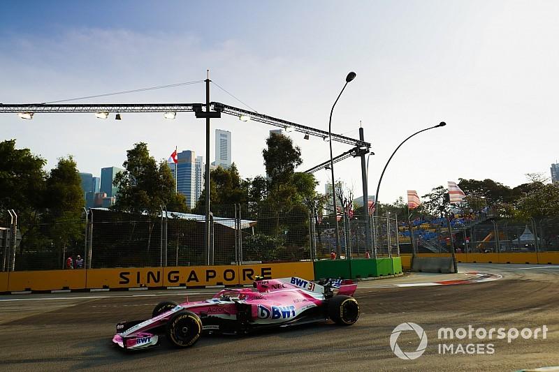 Force India elude una multa de 85.000 euros generada por el equipo original