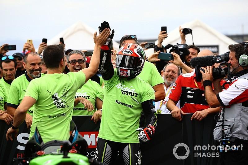 WSBK, Ель Віллікум: з перемогою Рея у першій гонці Kawasaki виграв Кубок конструкторів