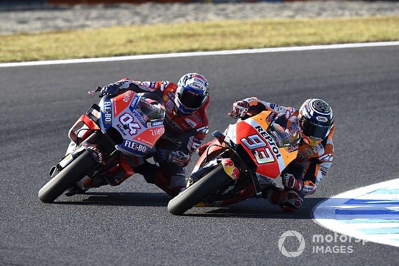 Dovizioso bangga menjadi rival Marquez