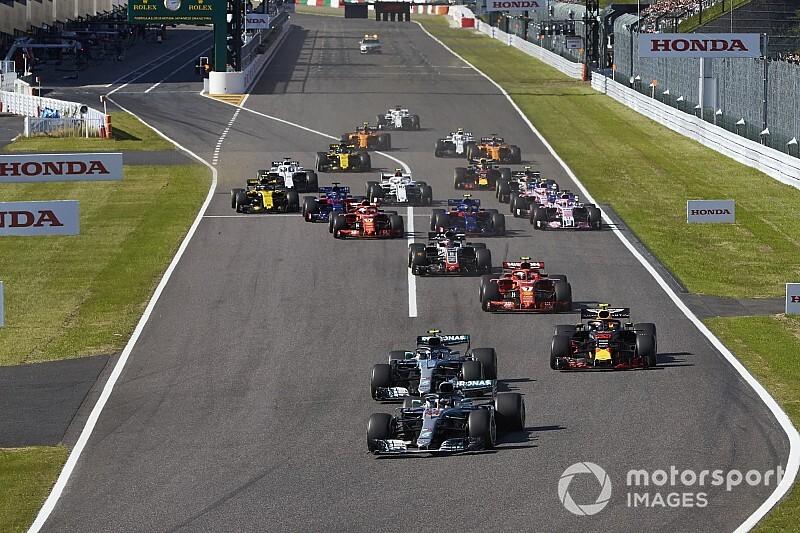 La F1 non cambierà il sistema d'assegnazione dei punti in vista del Mondiale 2019