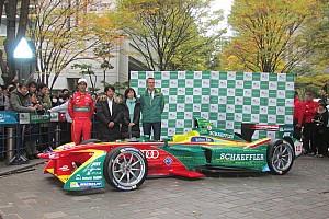【フォーミュラE】東京の公道をFEマシンが駆け抜けた! ディ・グラッシがドライブを担当