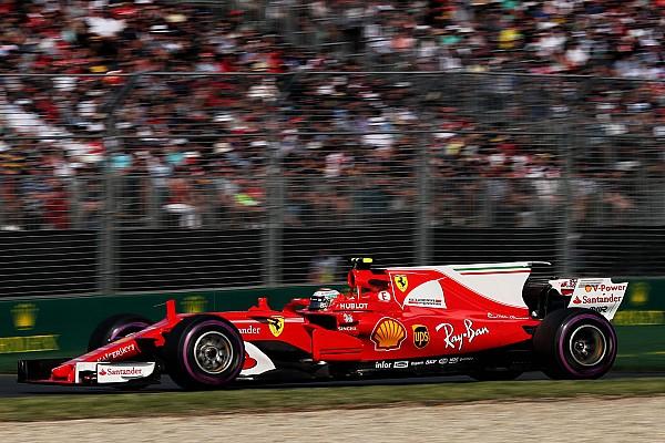 Raikkonen not downbeat despite missing out on podium