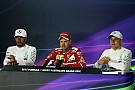 Formula 1 Australian GP: Sunday's Press Conference