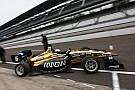 Indy Lights Santiago Urrutia logra el segundo lugar en Indianápolis