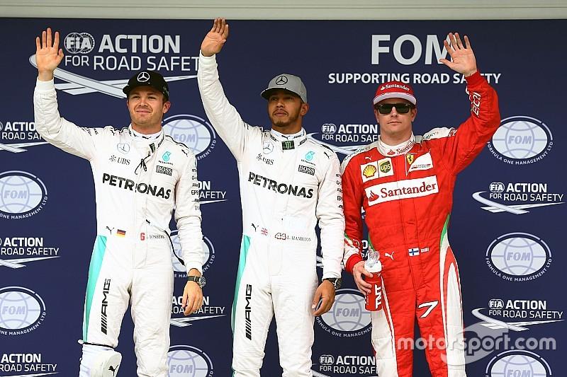 Brazilian GP: Hamilton beats Rosberg to pole at Interlagos