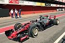 Formule 1 La Haas VF-17 aperçue avant sa présentation