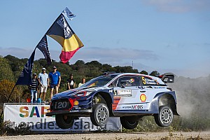 WRC Stage report Italy WRC: Neuville leads Tanak after Thursday stage