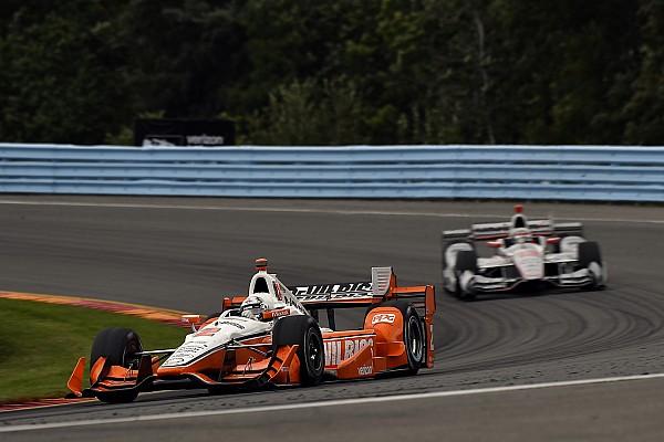IndyCar Newgarden rues error but stays confident