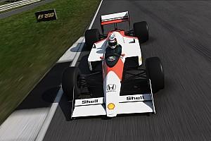Симрейсинг Новость Видео: Норрис проехался на старых McLaren в игре F1 2017