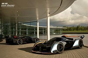 Jeux Video Actualités McLaren imagine un concept radical pour Grand Turismo Sport