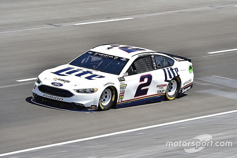 Keselowski leads Saturday morning Cup practice