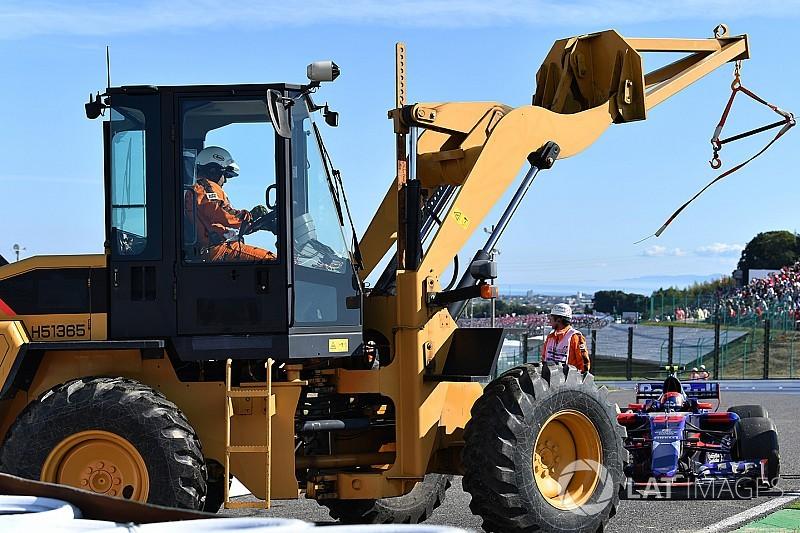 Bianchi után Sainz az első kieső Japánban