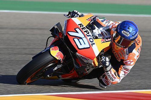 MotoGPテルエルFP1:やっぱり覚醒? アレックス・マルケスが首位。中上2番手