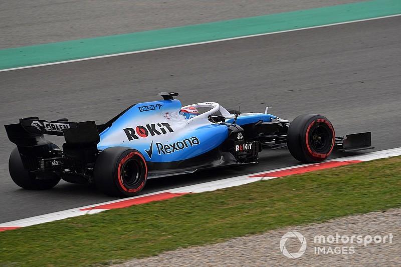 Képgaléria: végre pályán a Williams 2019-es F1-es autója