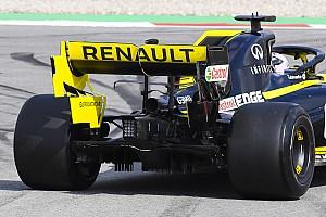 Renault dice que el problema del alerón trasero ha sido arreglado