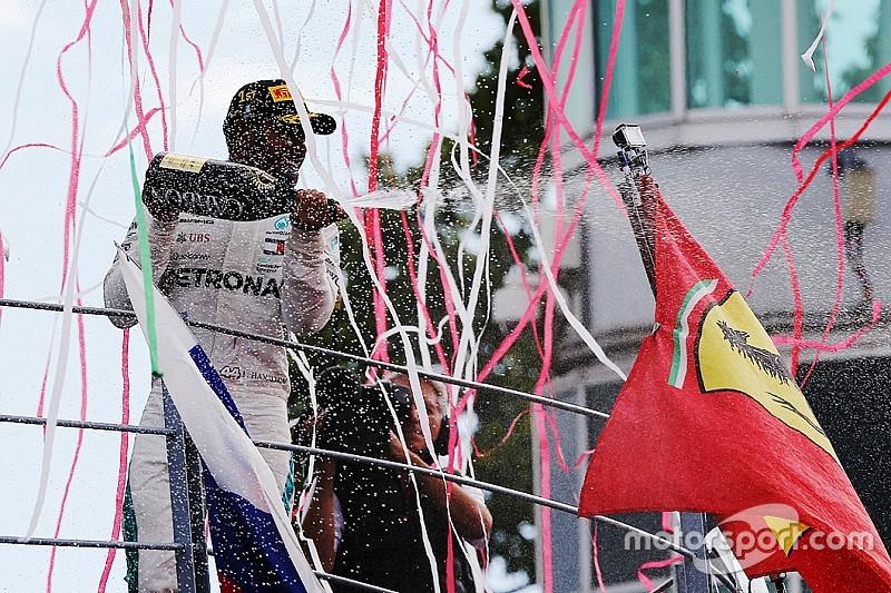 Lewis Hamilton ganz cool: Buhrufe machen mich nur stärker!