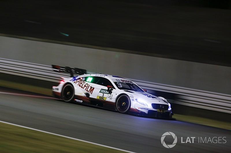 Misano DTM: Di Resta wins crazy night race, Paffett out
