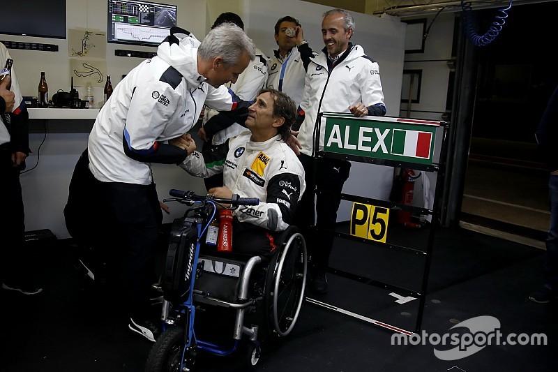 BMW: Zanardi için dayanıklılık yarışı DTM'den daha iyi