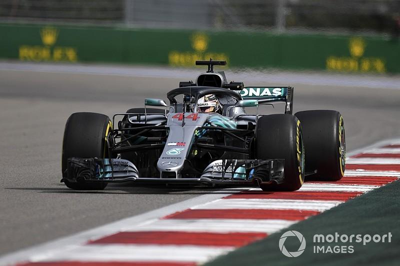 Rusya GP 3. antrenman: Hamilton lider, Ferrari pilotları geride kaldı