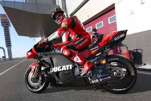 Ducati: l'aerodinamica della carena funziona in piega