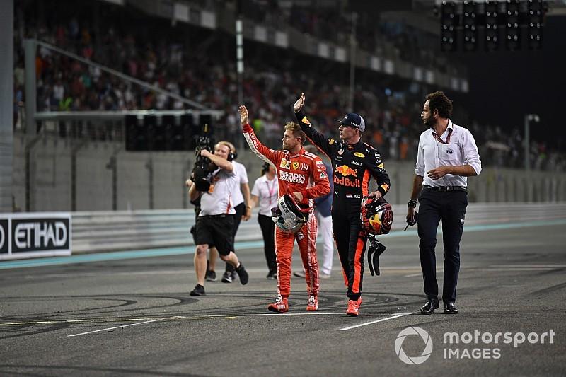 Hamilton, Vettel y Verstappen protagonizan