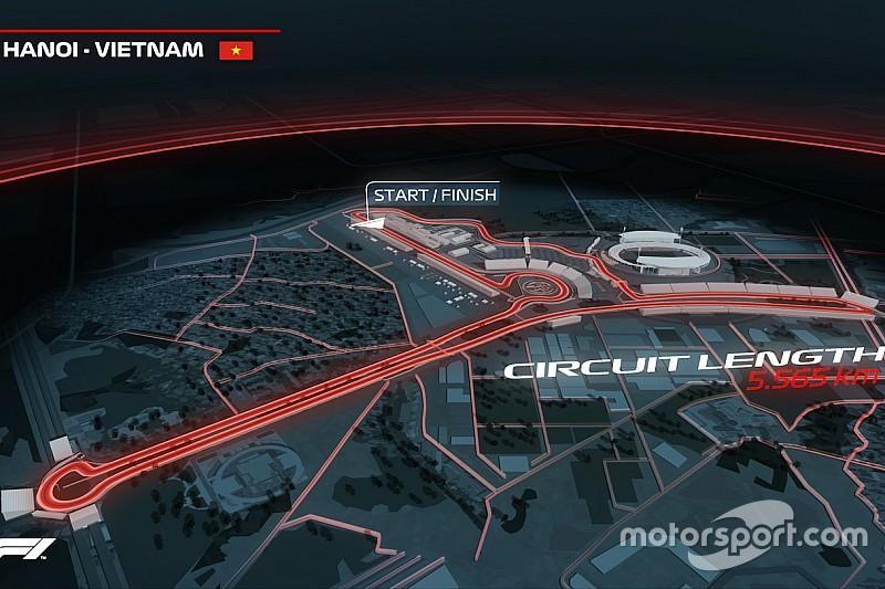 Ufficiale: nel 2020 debutta il GP del Vietnam sul tracciato cittadino di Hanoi