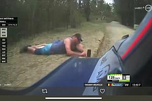 Police identify daredevil Rally Australia spectators