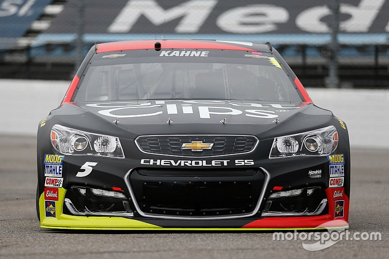 Kasey Kahne tops Saturday morning Cup practice