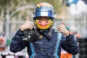 FIA F2 Relato da corrida Albon vence corrida caótica em Baku; Sette Câmara é 4º