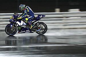 MotoGP Reaktion MotoGP-Test auf nasser Strecke: Bald Regenrennen in Katar?
