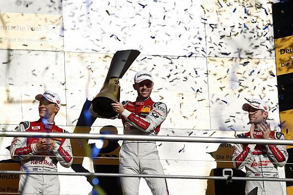 DTM Résultats Championnat - Rast champion sur le fil!