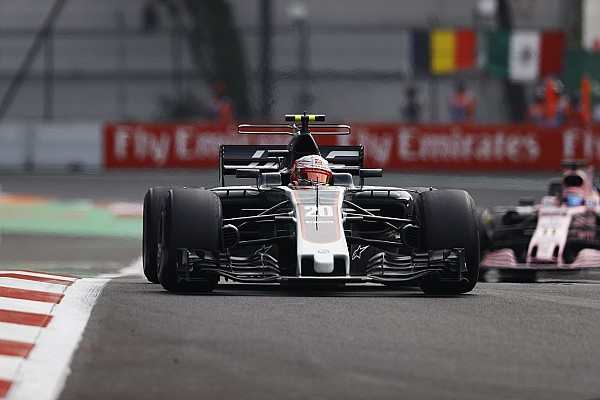 Haas following Force India trajectory in F1 - Magnussen