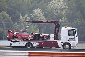 DTM Noticias René Rast hospitalizado tras su accidente en el DTM y no correrá el domingo