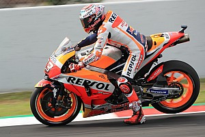 """MotoGP Nieuws Marquez niet comfortabel: """"Klein probleem met elektronica"""""""