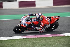 MotoGP Crónica de entrenamientos Dovizioso lidera delante de Rossi en el arranque de Qatar