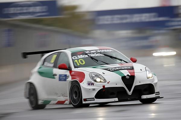 WTCR Debutto a denti stretti per Morbidelli e Giovanardi con le Alfa Romeo