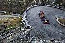 Formule 1 Quand Buemi pilote une F1 dans un col des Alpes!