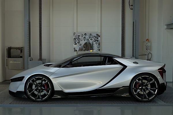 Honda показала спорткар Vision GT для Gran Turismo Sport