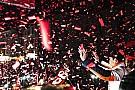 Marc Márquez célèbre son titre mondial en Espagne