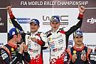 WRC トヨタ加入後、初優勝のタナク「決して簡単なラリーではなかった」
