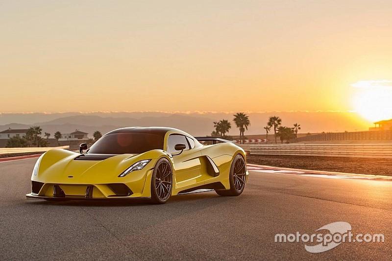 Hennessey оголосила про тести нового гіперкара Venom F5 у 2019 році