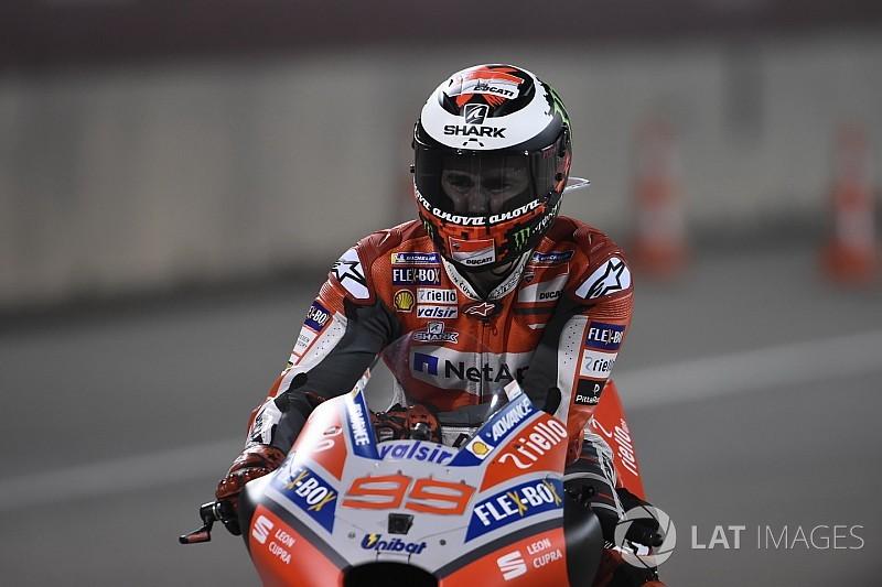 Lorenzo diz não desperdiçar atenção com futuro na Ducati