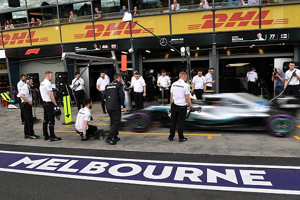 La parrilla de salida del GP de Australia 2018 de F1, en imágenes