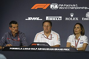 Formula 1 Press conference Bahrain GP: Friday's press conference