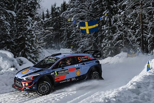 WRC Yarış ayak raporu İsveç Rallisi: Neuville lider, ilk üç Hyundai sürücülerinin