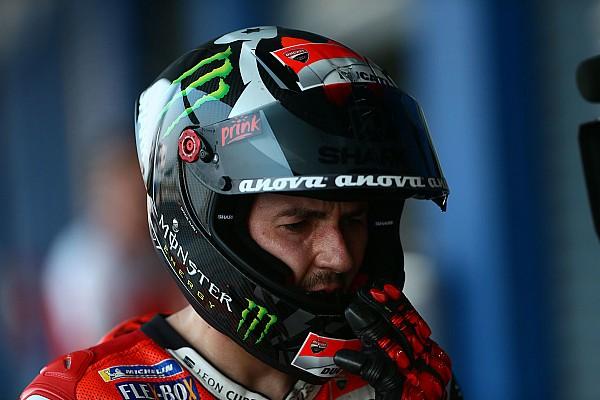 Lorenzo torna sulla GP17, ma: