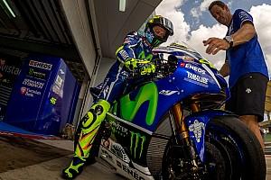"""MotoGP 突发新闻 罗西:用升级后的米其林轮胎""""更接近极限"""""""