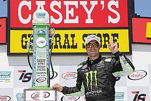 NASCAR XFINITY Reporte de la carrera Hornish Jr. llegó de emergencia y ganó; Suárez sigue como líder