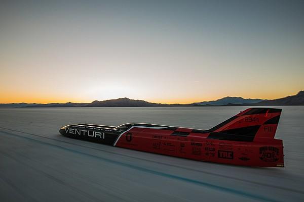 Neuer Weltrekord: Venturi schafft 576 km/h mit Elektrofahrzeug