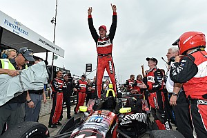 IndyCar Race report Bourdais holds off Daly to win in Detroit